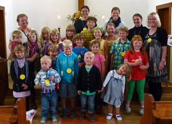 Familiengottesdienst zum neuen Schuljahr in der Christuskirche  Drebach