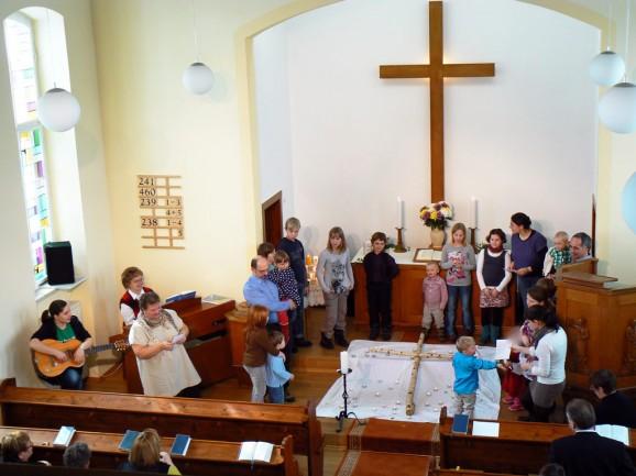 Ostern 2013 in der Christuskirche Drebach